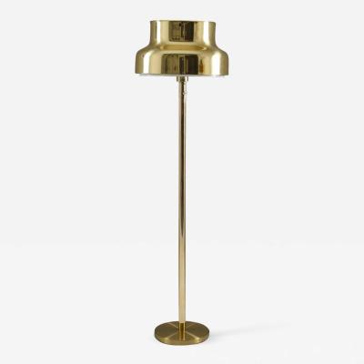 Anders Pehrson Swedish Bumling Floor Lamp in Brass by Anders Pehrson for Atelj Lyktan