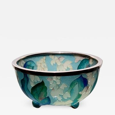 Ando Jubei A Japanese Plique a jour bowl by Ando Jubei Company
