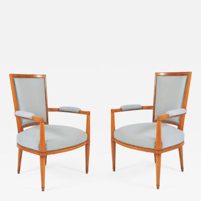 Andr Arbus 1930s French Occasional Chairs by Andr Arbus