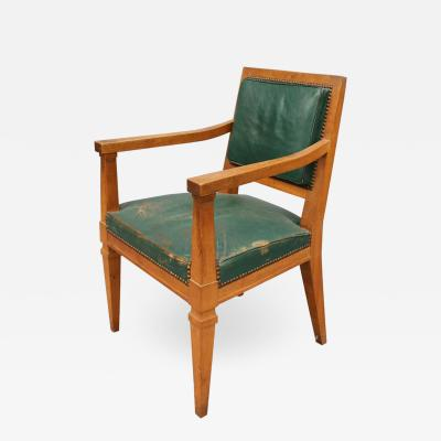 Andr Arbus A Fine French Art Deco Armchairs Attributed to Arbus