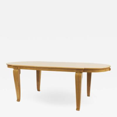 Andr Arbus Andr Arbus Mid Century 1938 Sycamore Dining Table
