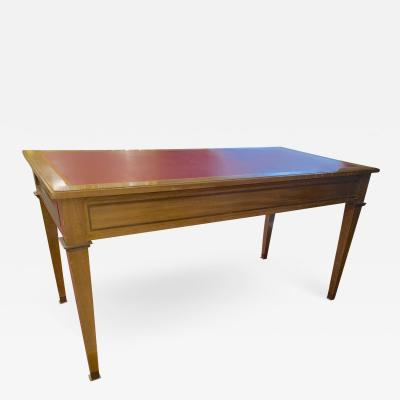 Andr Arbus Andre Arbus Neo classical entry table or console with bronze accent
