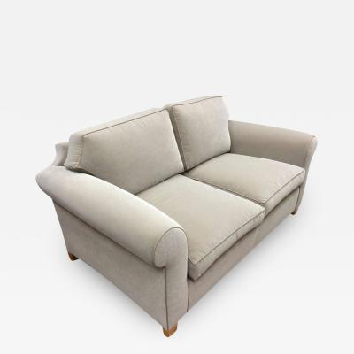 Andr Arbus Andre Arbus Refined Settee Newly Covered in Velvet