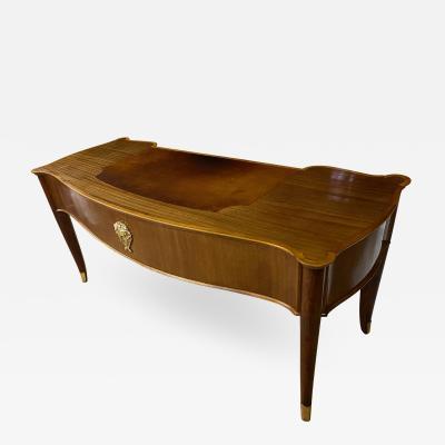 Andr Arbus Andre Arbus early refined walnut presidential desk