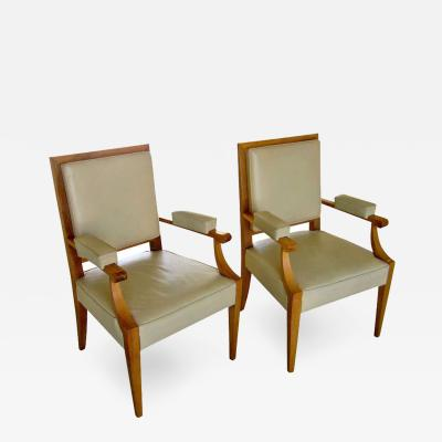 Andr Arbus French Armchairs