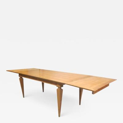 Andr Arbus French Mid Century Modern Neoclassical Dining Table by Andre Arbus Paris 1949