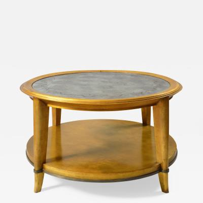 Andr Arbus Large Lacquered Wood Coffee Table 1938