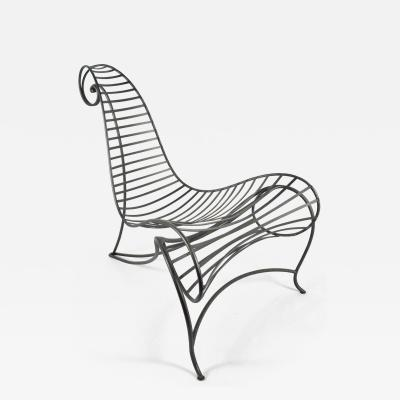 Andr Dubreuil Andre Dubreuil Iron Spine Chair by Ceccotti