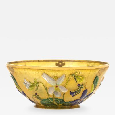Andr Fernand Thesmar Petite Coupe Sur in Enamel and Gold by Thesmar