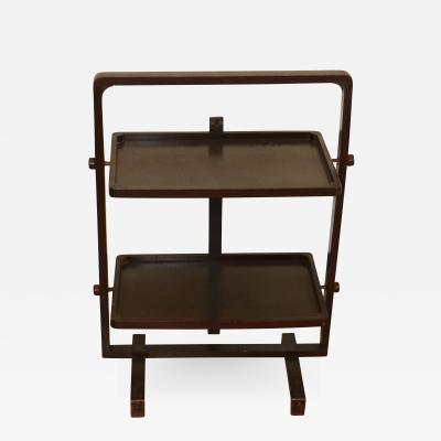 Andr Groult Art De co Folding Side Table by Andre Groult circa 1930