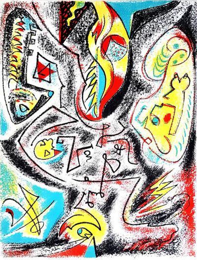 Andr Masson Andr Masson Original Lithograph 1963