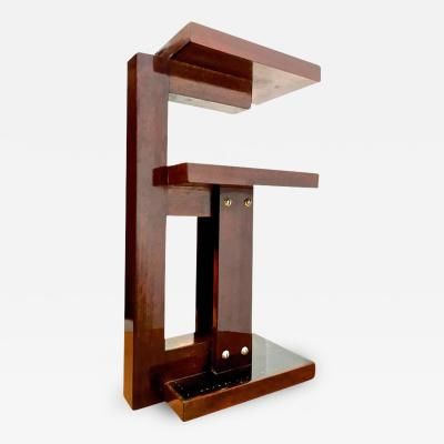 Andr Sornay Andr Sornay Rarest Small Refined Nailed Modernist Side Table Table de fumeur