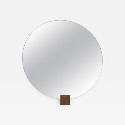 Andr Sornay Andr Sornay Round Mirror circa 1930