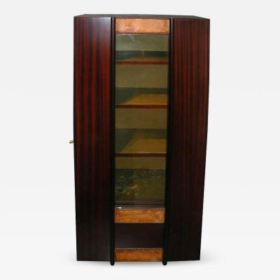 Andr Sornay Andr Sornay Sapelli Mahogany Bookcase Art Deco circa 1935