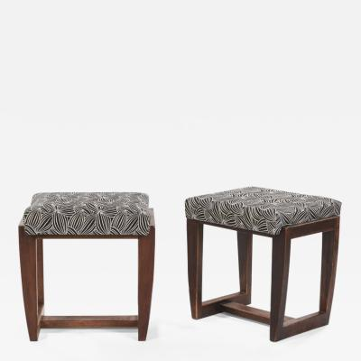 Andr Sornay Andre Sornay pair of purest pair of stools