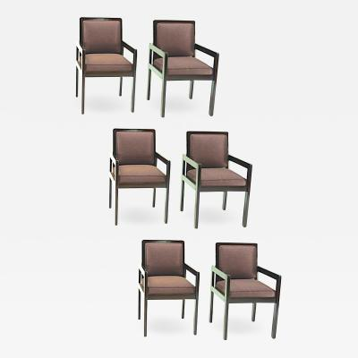 Andr Sornay Andre Sornay set of 6 dinning Arm chair