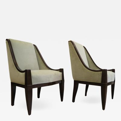 Andr Sornay Pair of Chairs By Andre Sornay