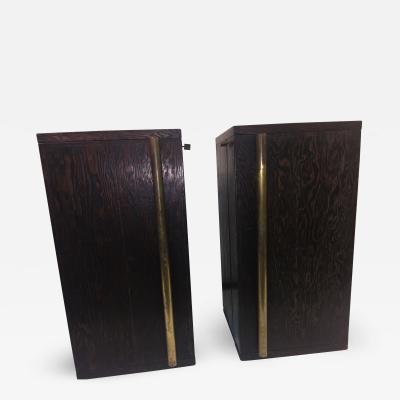 Andr Sornay Rare Pair of Andre Sornay Bar Cabinets