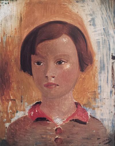 Andre Derain Portrait of a Little Girl
