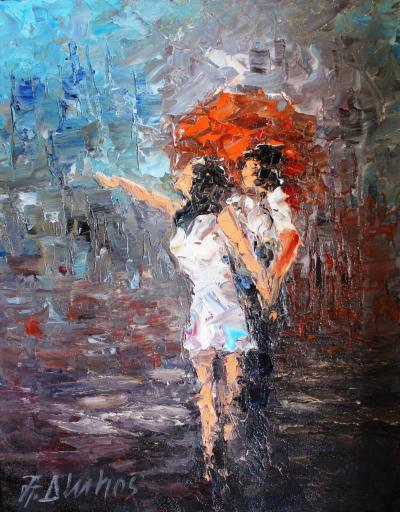 Andre Dluhos Raindrops
