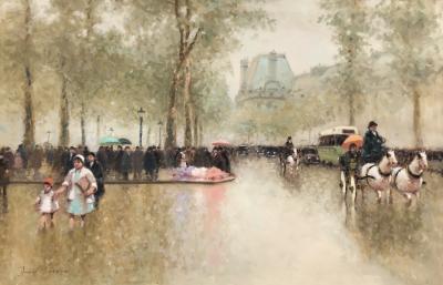 Andre Gisson Jardin des Tuileries Paris