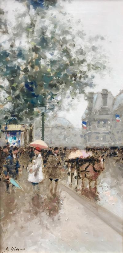 Andre Gisson Rainy Day in Paris