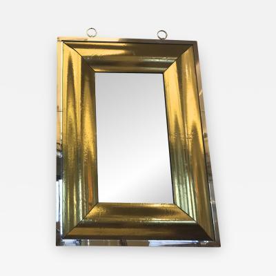 Andre Hayat stunning Rectangular Curved gold Mercury Frame Andre Hayat Mirror