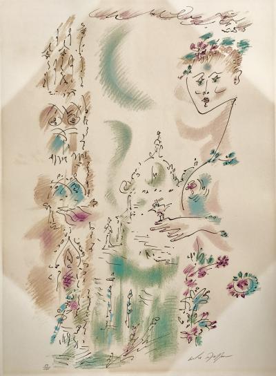 Andre Masson Venise en Fleurs