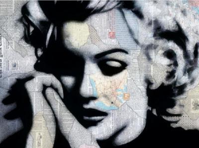 Andre Monet Marilyn Monroe