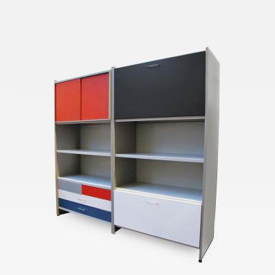 Andre Robert Cordemeijer Modular 5600 Series Desk Bookcase by Andre Cordemeijer for Gispen