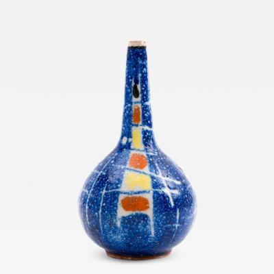 Andrea D Arienzo Andrea DArienzo Guido Gambone Ceramic Bud Vase in Primary Colors