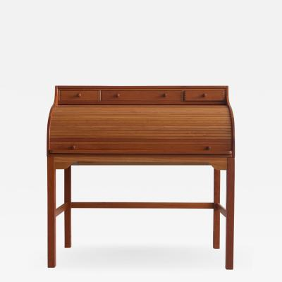 Andreas Hansen Solid American Cherrywood Writing Desk by Andreas Hansen