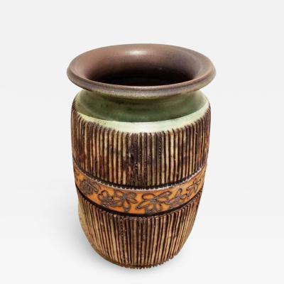 Andrew Bergloff Andrew Bergloff 1929 2015 Signed Ceramic Vase