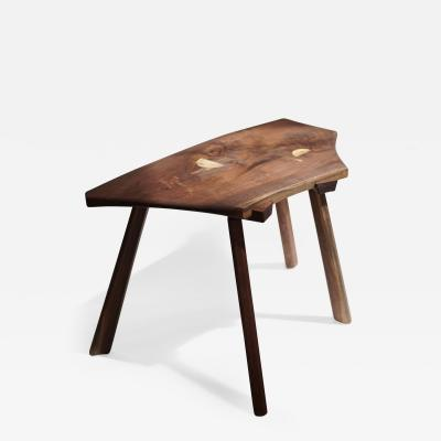 Andrew Brant Andrew Brant Animal Studio Stool in Walnut and Maple 2020 US