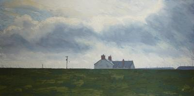 Andrew Francis Moorland farm House Wales