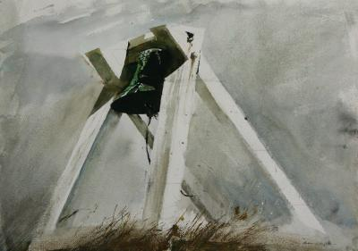 Andrew Newell Wyeth The Outermost Bell