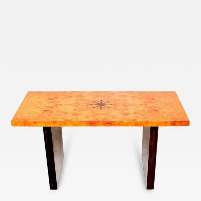 Andrew Szoeke Andrew Szoeke Coffee Table Burl and Macassar