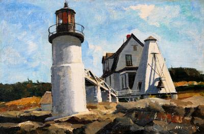 Andrew Winter Marshall Point Lighthouse Port Clyde Maine