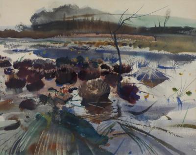 Andrew Wyeth Frog Hunters Marsh