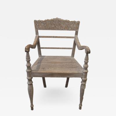 Andrianna Shamaris Shell Inlay Chair
