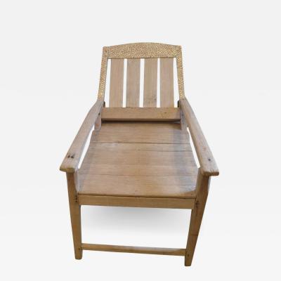 Andrianna Shamaris Shell Inlay Colonial Chair