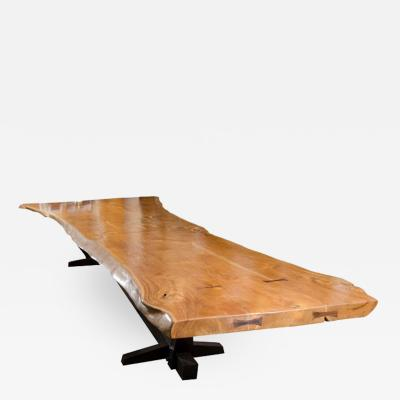 Andrianna Shamaris TEAK BUTTERFLY TABLE
