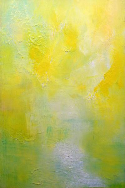 Andy Fullalove Landscape In Yellow