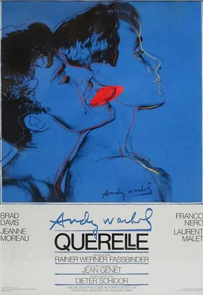 Andy Warhol After Andy Warhol Querelle Offset Lithographic Movie Poster Germany 1980s