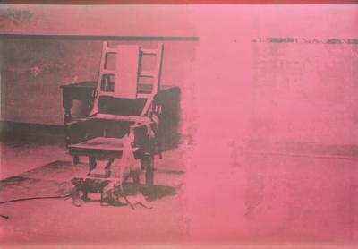 Andy Warhol Andy Warhol Electric Chairs Screen Print 11 75 1971 Signed and Numbered