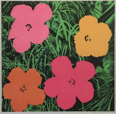 Andy Warhol Andy Warhol Flowers offset Lithograph FS 11 6