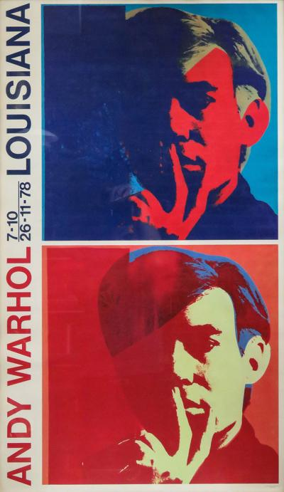 Andy Warhol Andy Warhol Louisiana Exhibition Poster 1978