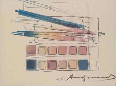 Andy Warhol Andy Warhol Watercolor Paint Kit with Brushes