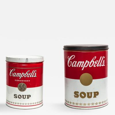 Andy Warhol Andy Warhol after Pop Art Campbells Soup Cans USA 1960s