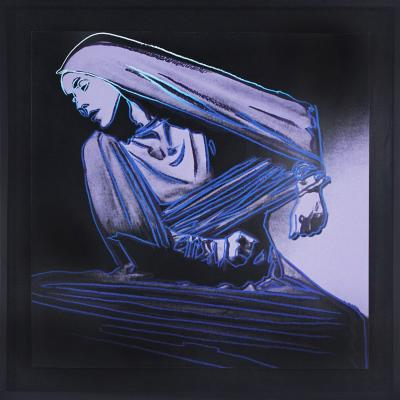 Andy Warhol Andy Warhol lamentation 388 from the martha graham series 1986